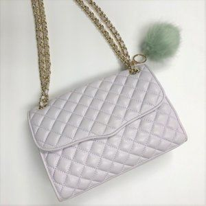 Rebecca Minkoff Quilted Affair Pale Lilac Bag